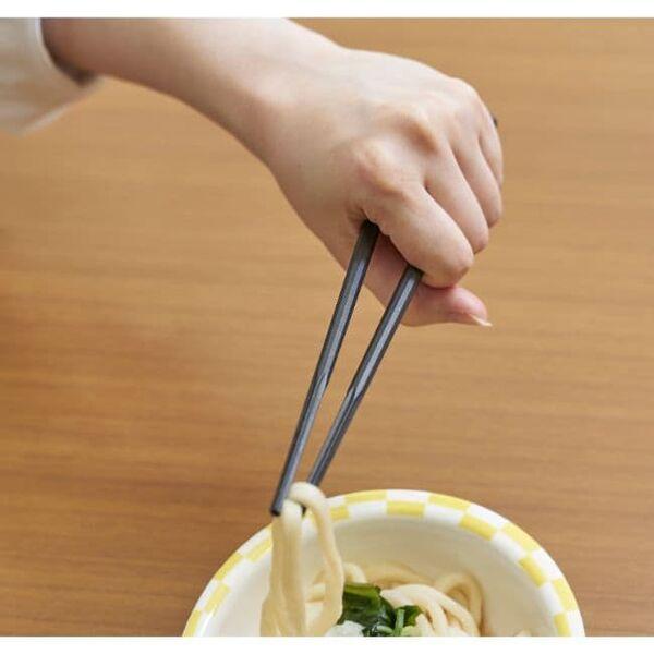 ウィルアシスト 楽々箸ピンセットタイプ樹脂製 グー 握りやすいウィルアシスト 楽々箸クリップタイプ樹脂製 グー 握りやすい