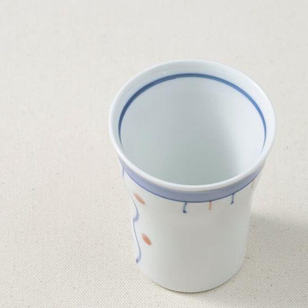 ウィルアシスト ほのぼの湯のみ水玉 持ちやすい 飲みやすい